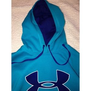 Under Armour Sweaters - Blue Under Armour Hoodie